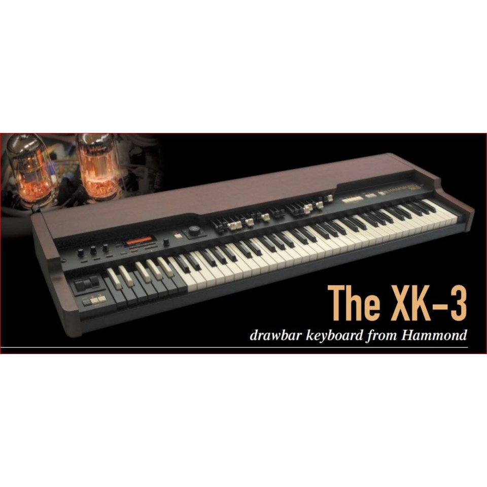 Hammond XK-3 drawbar keyboard occasion