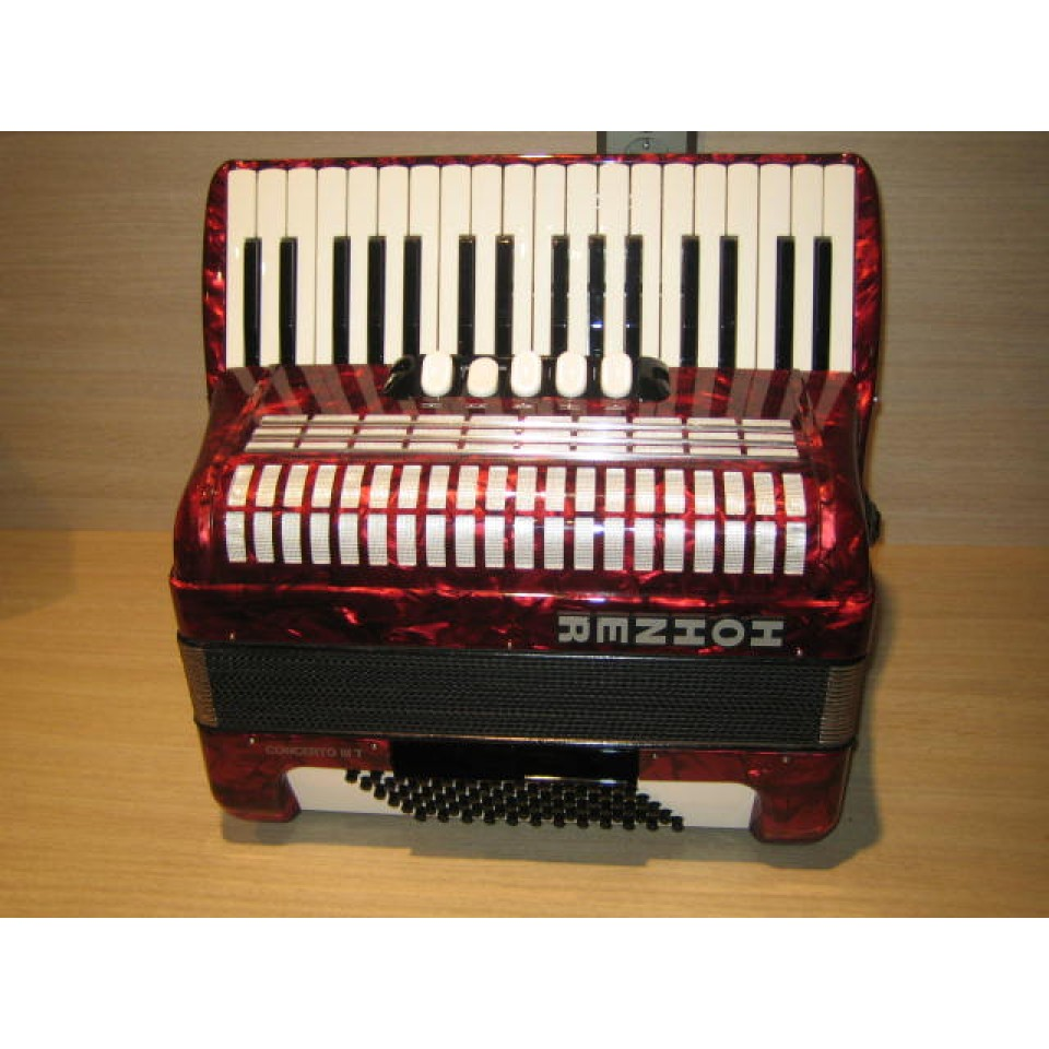 Hohner Concerto III T Red occasion