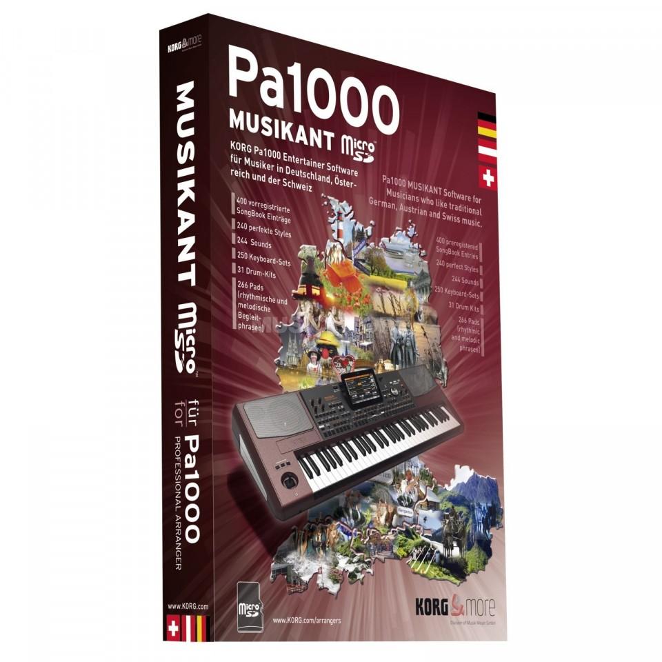 Korg Pa1000 Musikant Micro SD