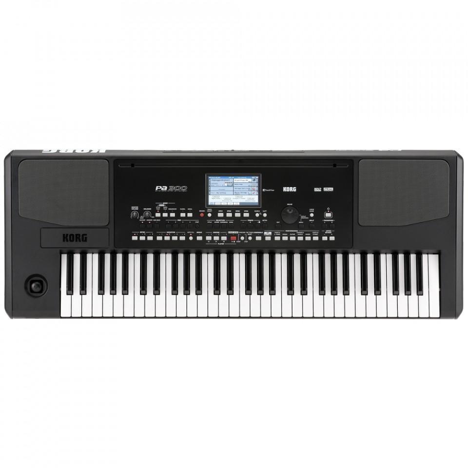 Korg Pa300 arranger keyboard demo