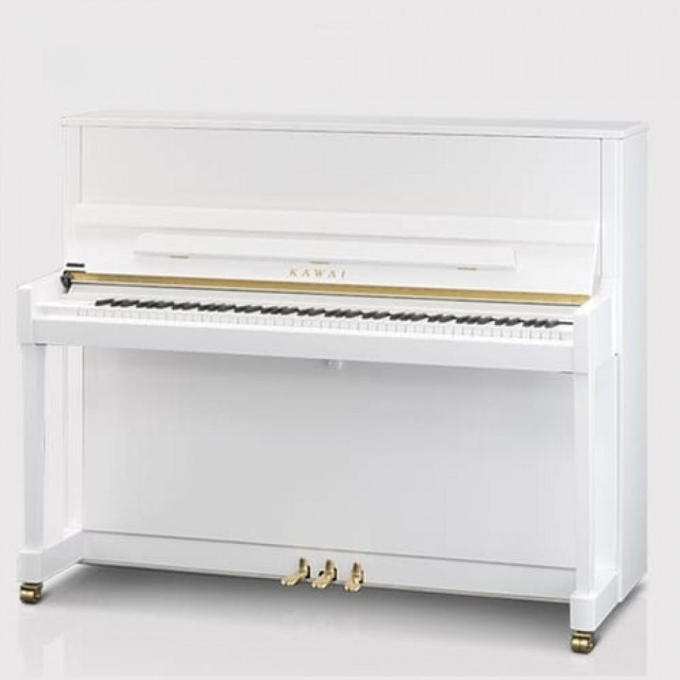 Kawai K-300 PWH Aures piano wit hoogglans