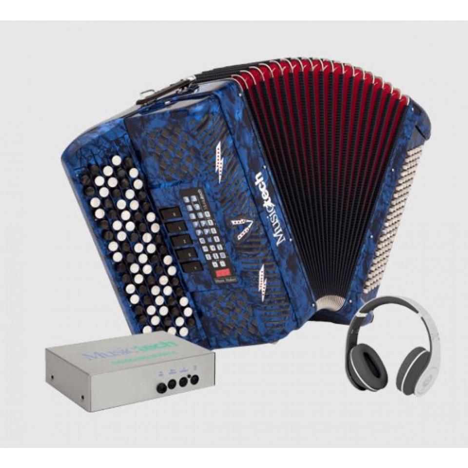 Musictech Music Maker Digital 50 digitale accordeon chromatisch