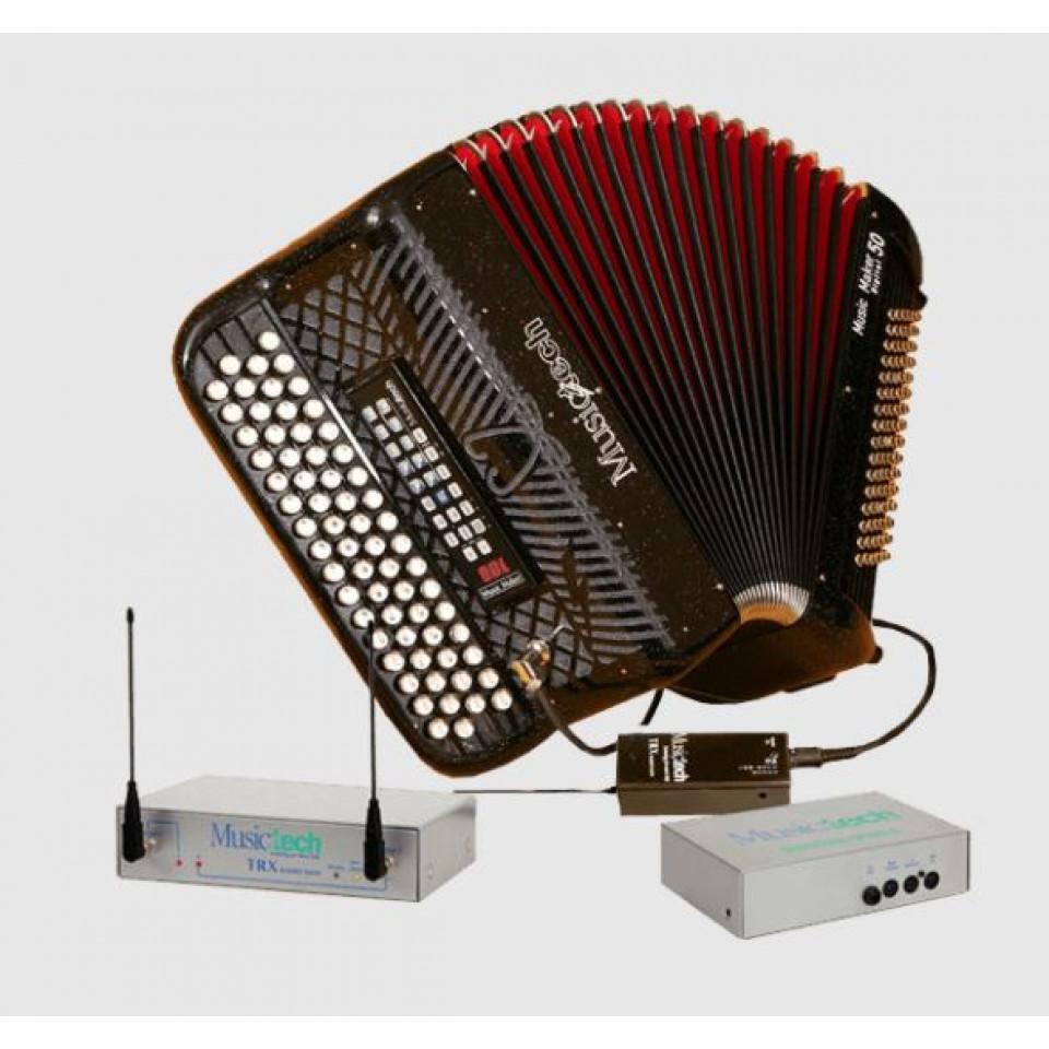 Musictech Music Maker Digital 50 digitale accordeon chromatisch French System