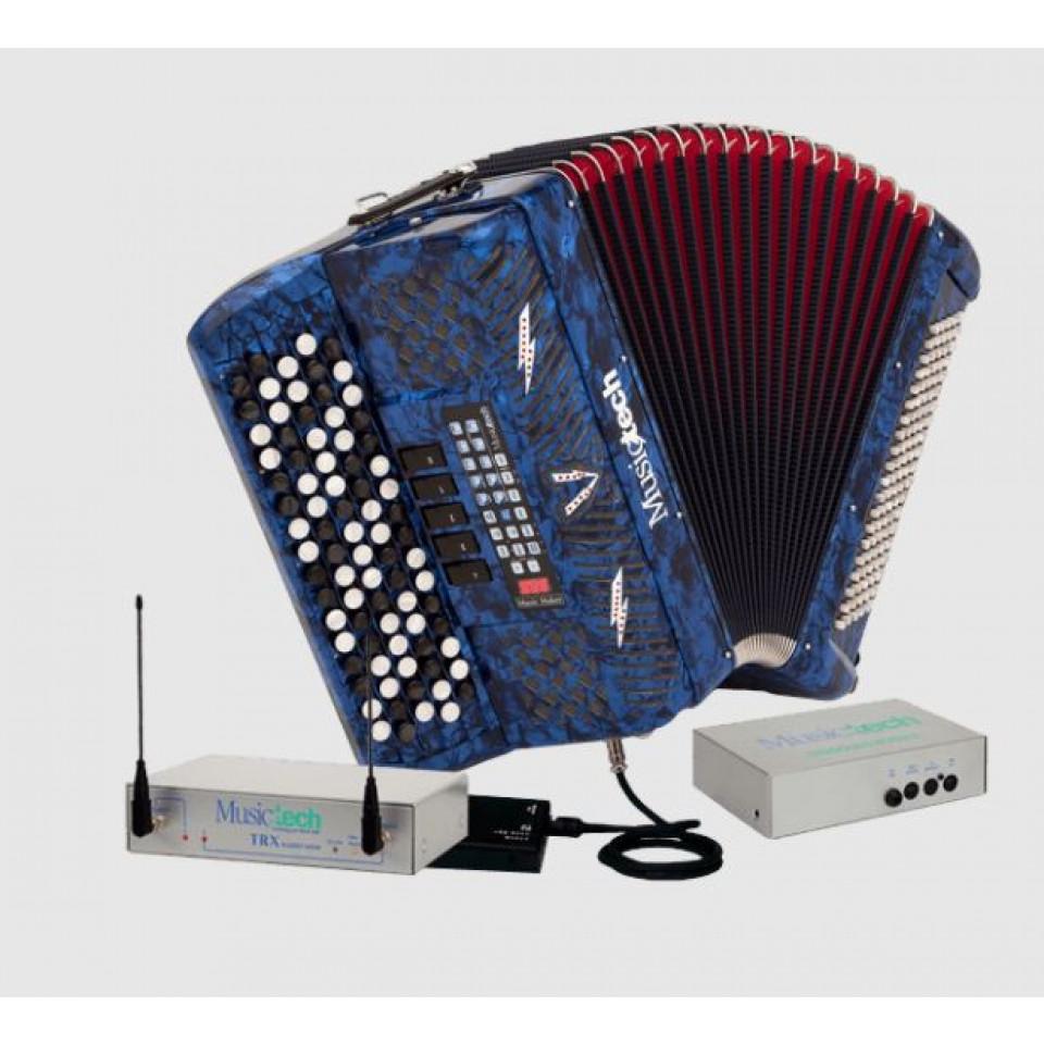 Musictech Music Maker Digital 50 digitale wireless accordeon chromatisch