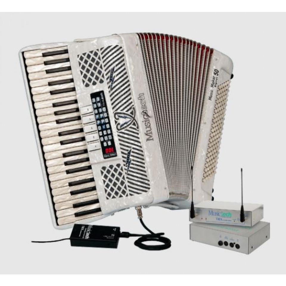 Musictech Music Maker Digital 50 Wireless digitale accordeon
