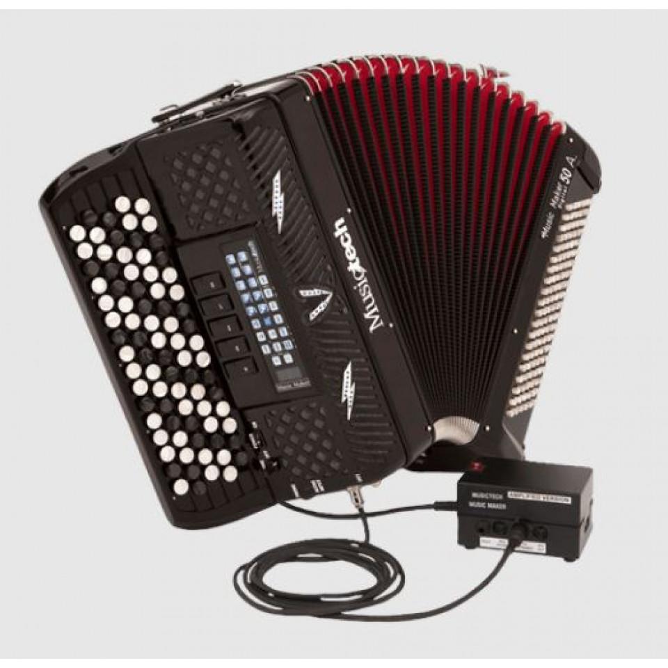 Musictech Music Maker Digital 50A digitale accordeon chromatisch