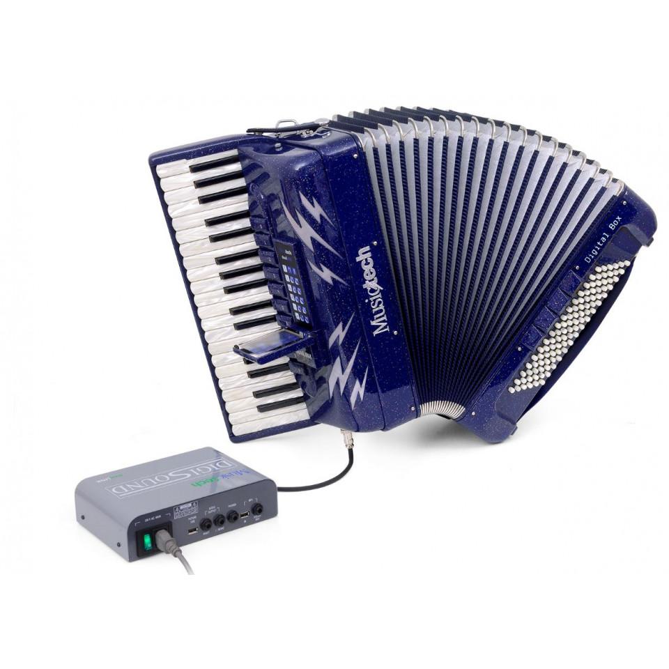Musictech Dual Link Digi Beat digitale accordeon 37/96