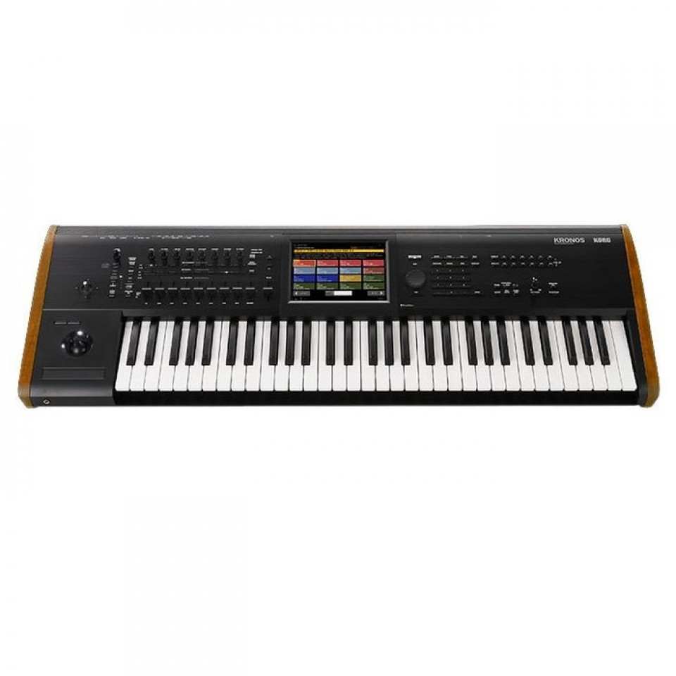 Korg Kronos 61 Synthesizer Music Workstation (Model 2015)