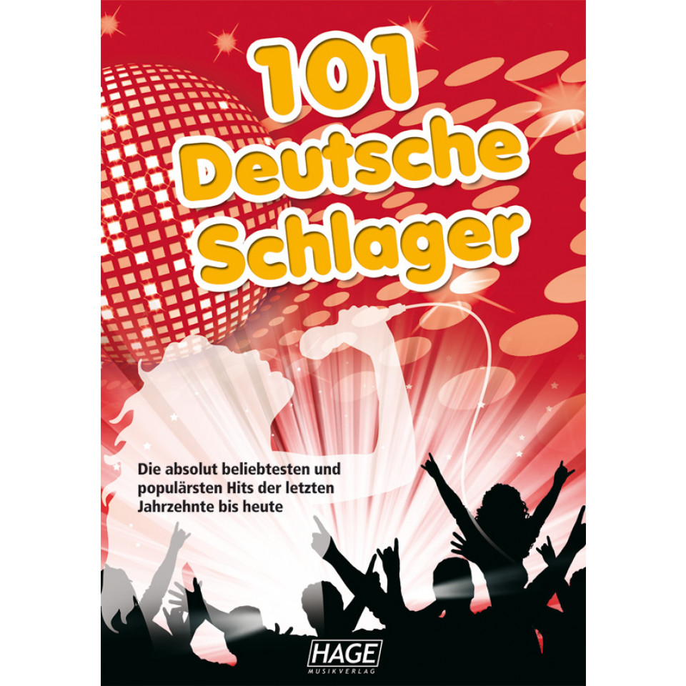 Hage 101 Deutsche Schlager incl. 101 MIDI-files (GM systeem) GM3646U