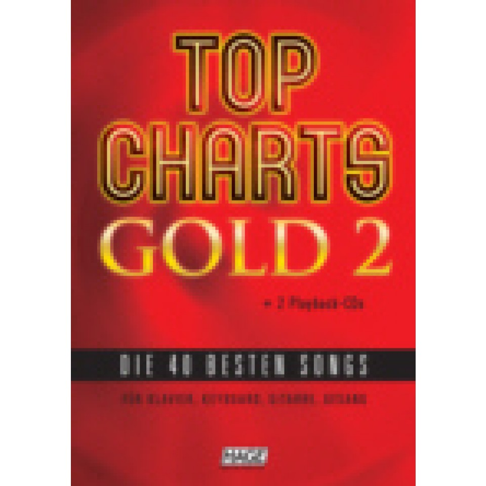 Hage: Top Charts Gold 2 (incl. 2 CD's) + 40 midi-files (óók speciaal voor Yamaha XG/XF systeem)