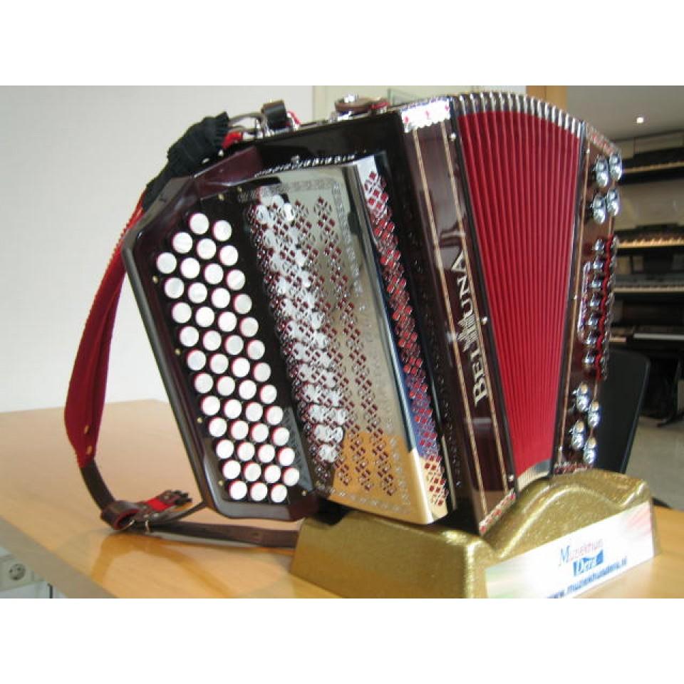 Beltuna Alpstar IV D Palisander X-bas, mineurbassen & 2 halve tonen