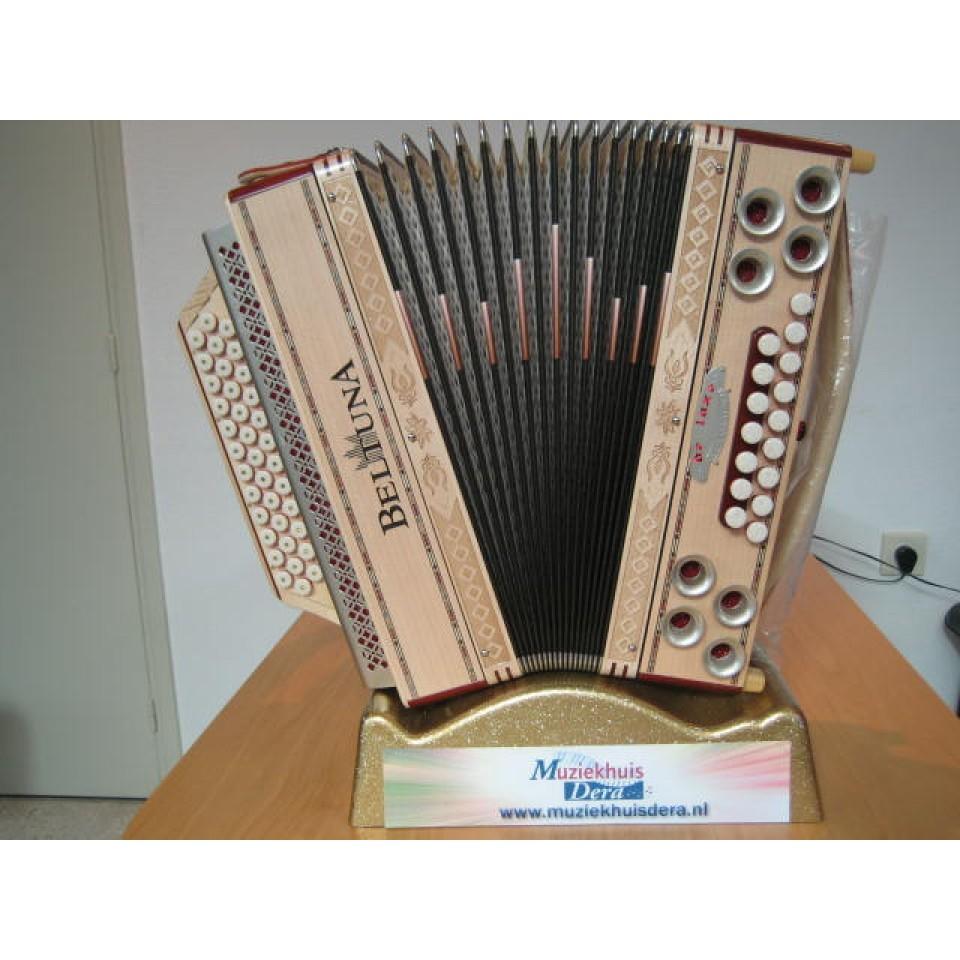Beltuna Alpstar IV D Ahorn X-bas, mineurbassen & 2 halve tonen