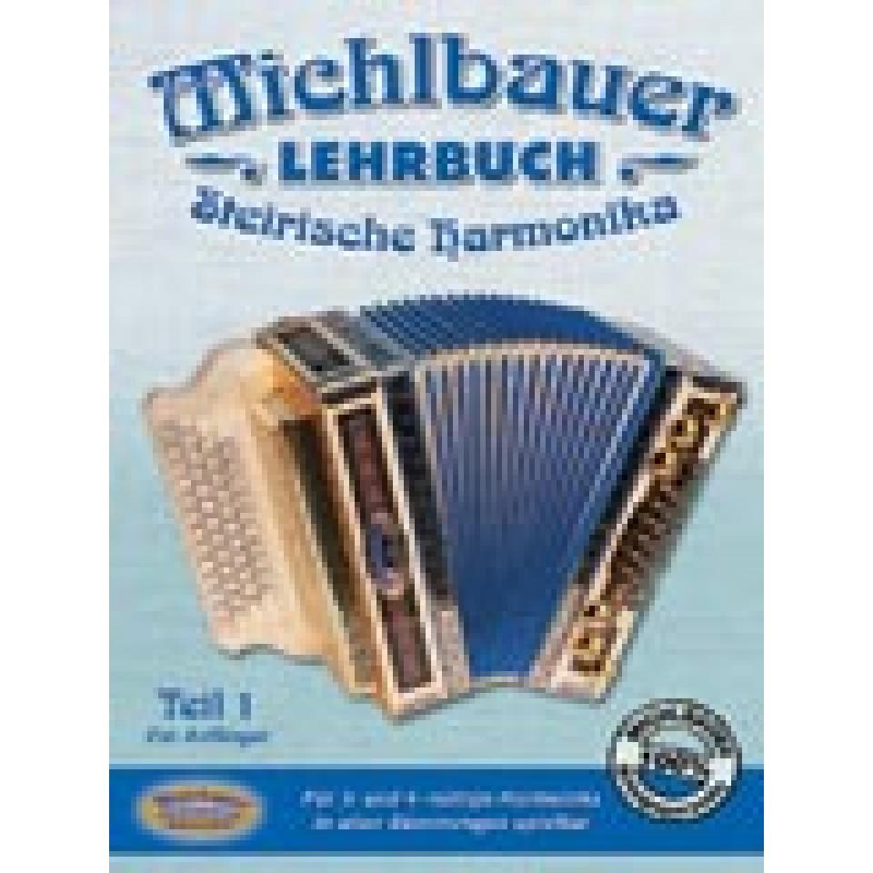 Michlbauer Lehrbuch Steirische Harmonika 1