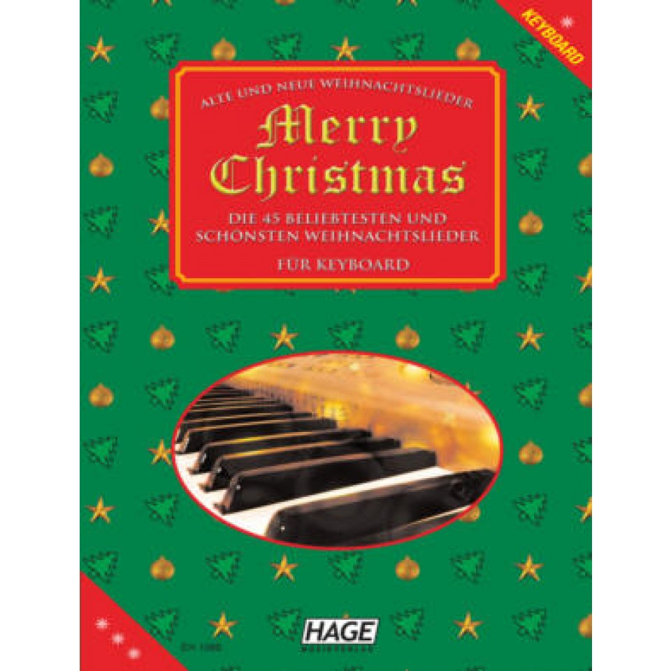 Hage: Merry Christmas voor Keyboard met midifiles in GM en XG/XF formaat!