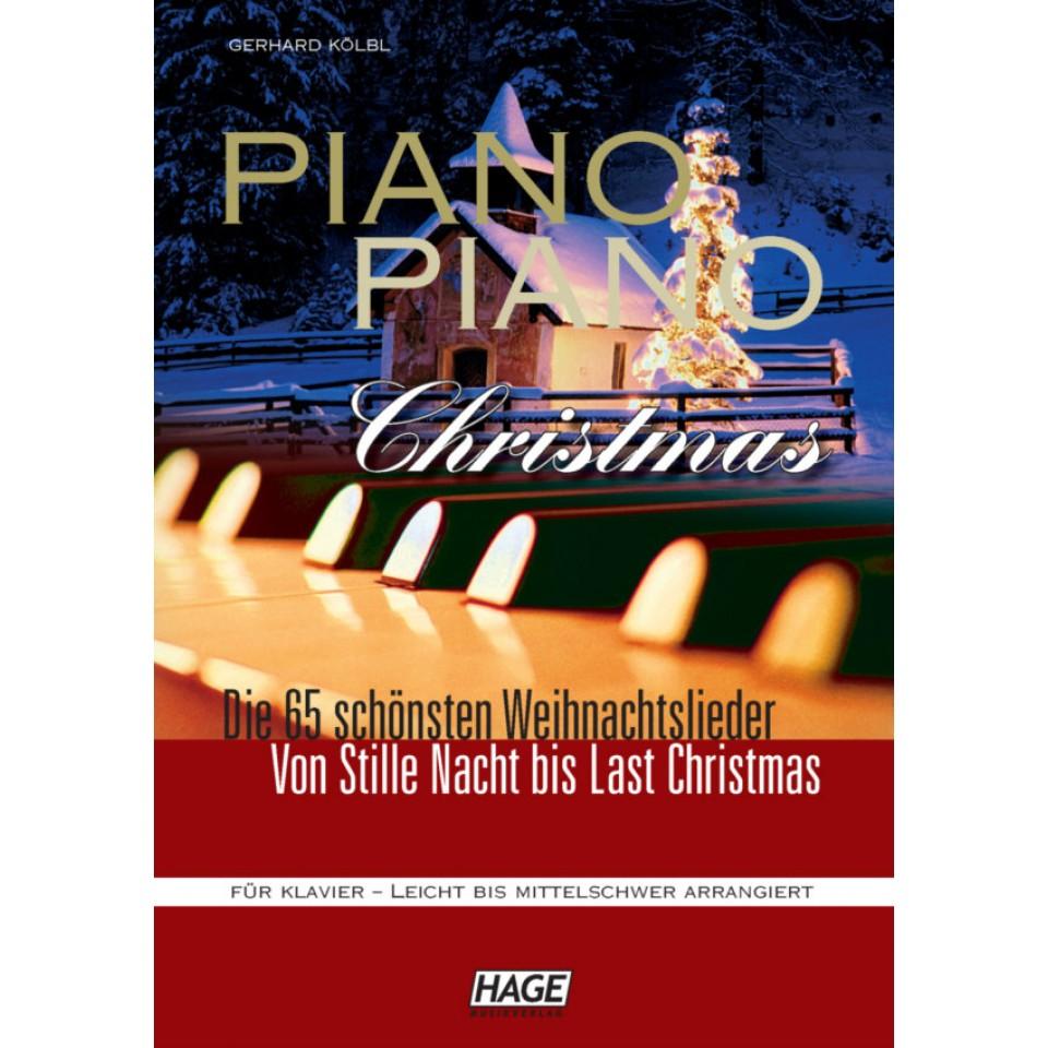 Hage: Piano-Piano Christmas! 65 mooie en bekende Kerstliederen.