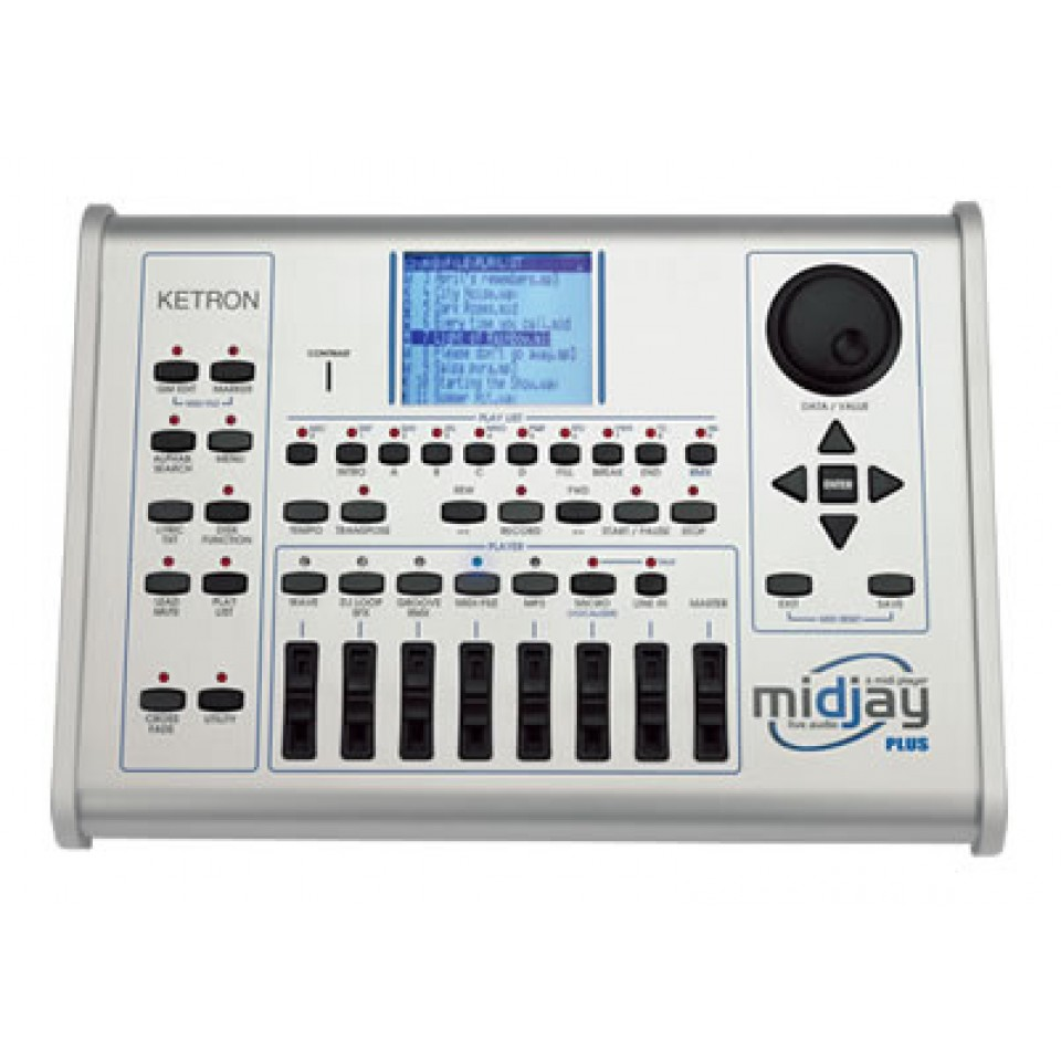 Ketron Midjay Plus Midi & Audio Player USB Emulator