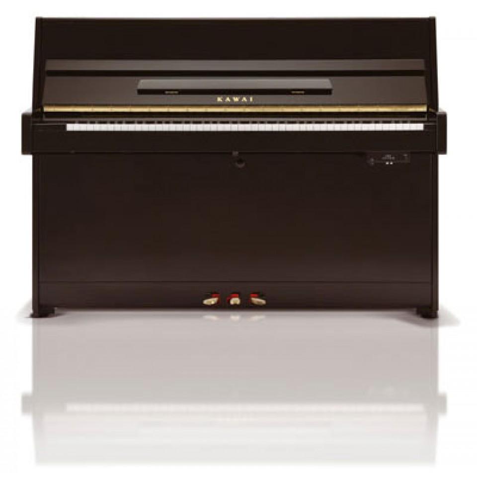 Kawai K-15 ATX3L AnyTime piano zwart hoogglans
