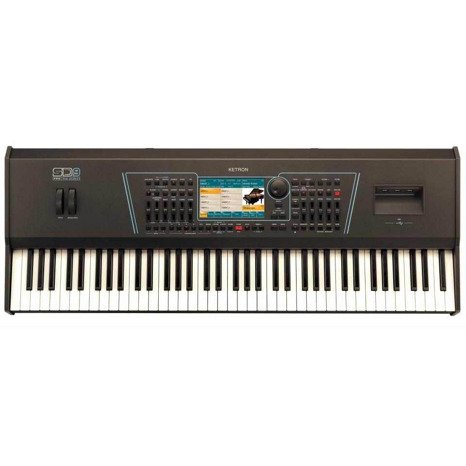 Ketron SD9 Pro Live Station SD-9 Arranger Keyboard