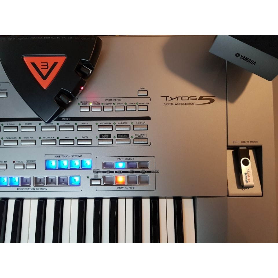 V3 Grand Piano incl. SoundPatch voor Yamaha Tyros5