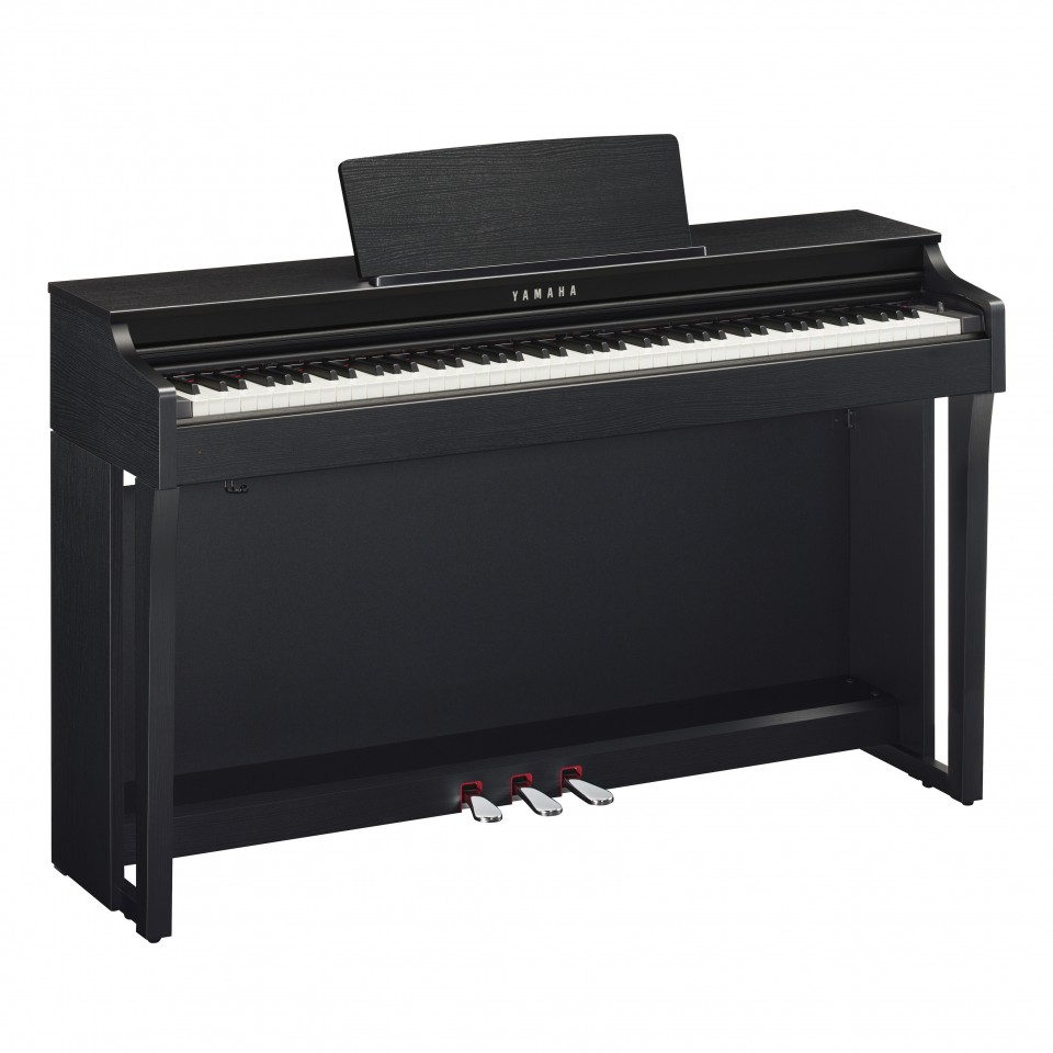 Yamaha CLP-625 B digitale piano Black Satin