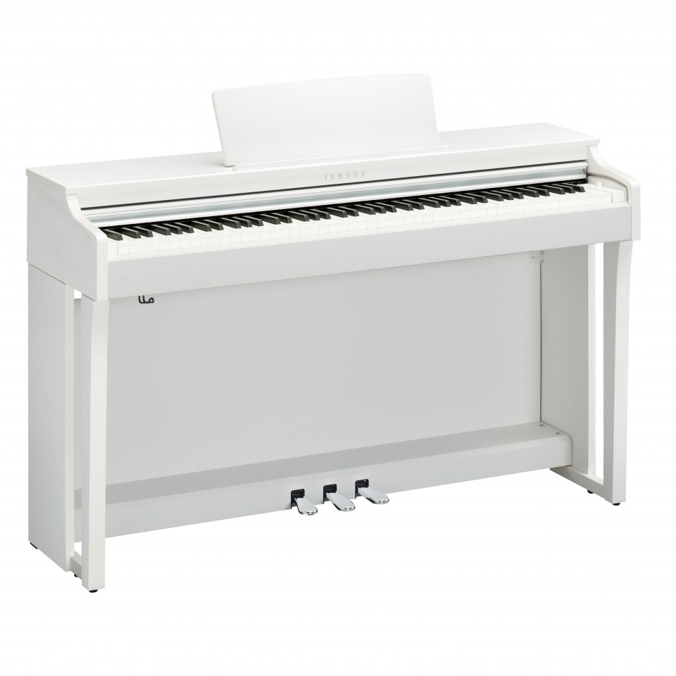 Yamaha CLP-625 WH digitale piano White Satin