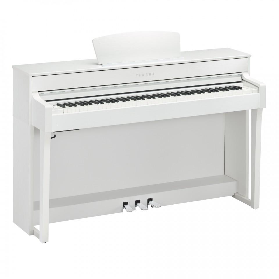 Yamaha CLP-635 WH digitale piano White Satin