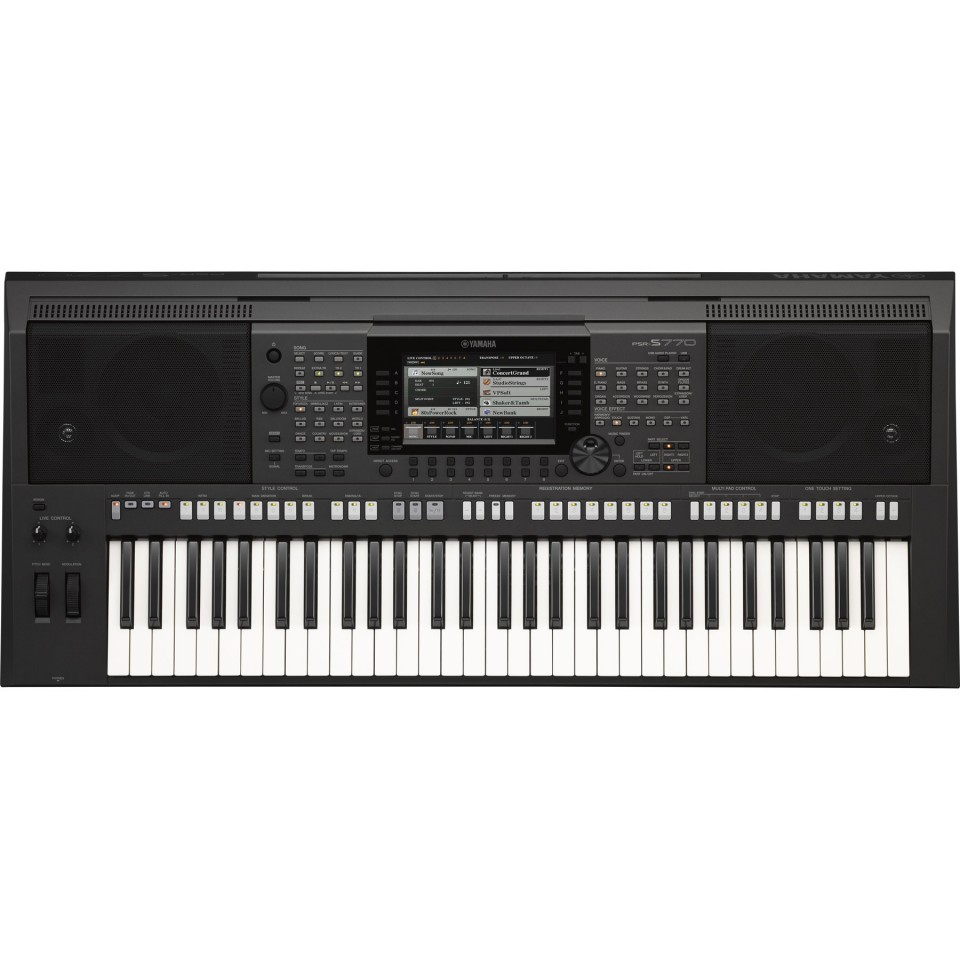 Yamaha PSR-S770 incl. Free Voice & Style Expansion Pack